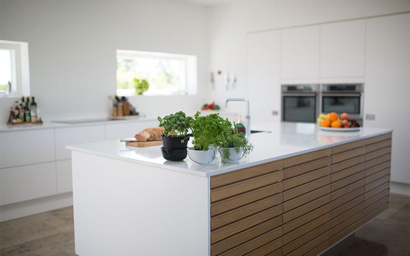 Küchenplatte mit neuer Keramikplatte
